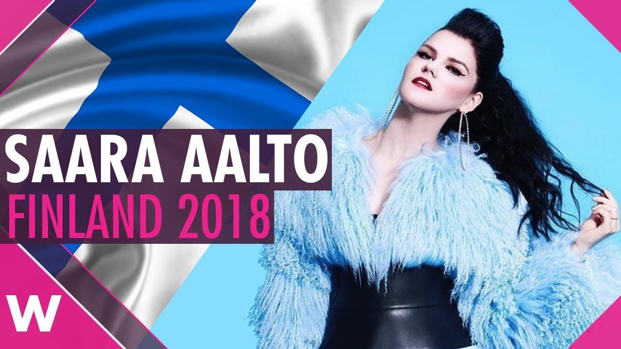 Saara Aalto Euroviisut