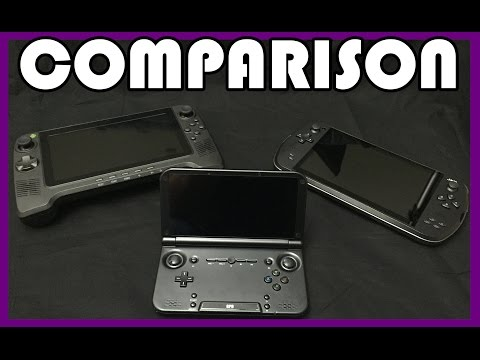 Comparison Between GPD XD, BlazeTab + JXD S7800b Android Game Consoles