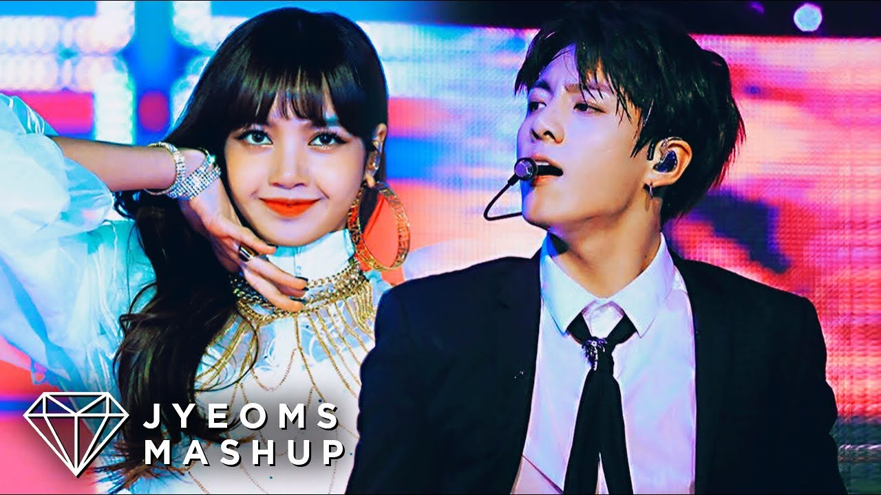 BLACKPINK & BTS - SO HOT X MIC DROP REMIX (LIVE MASHUP)