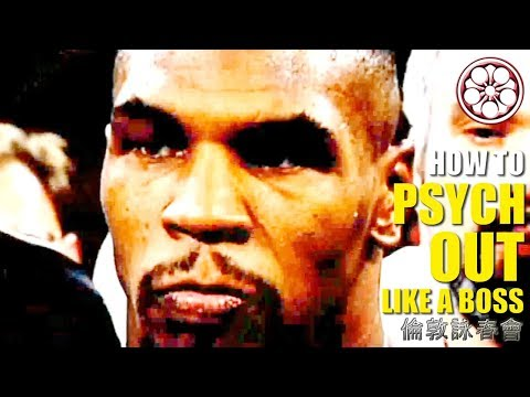 6 MENACING WAYS to Psych Out BIGGER Opponents ● How to Fight