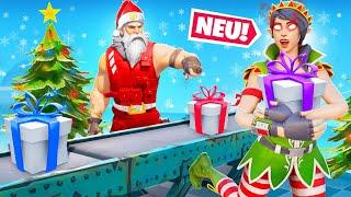 Weihnachtsmann VS BÖSE Elfen Modus in Fortnite!