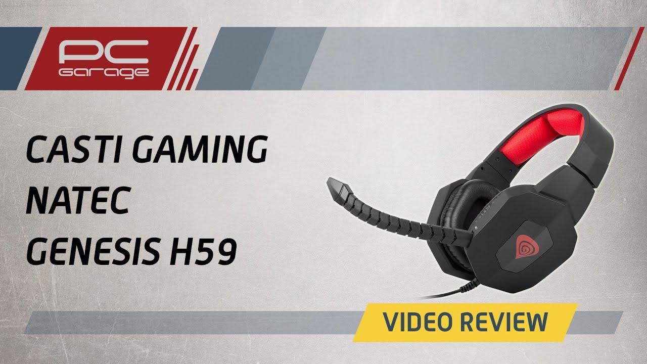 Video Review Casti Gaming Natec Genesis H59