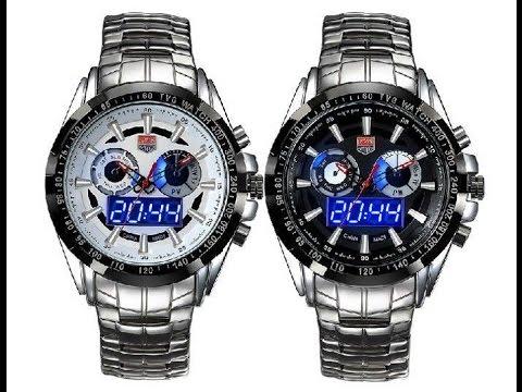 Часы TVG KM-468 : с аналоговым и цифровым циферблатом