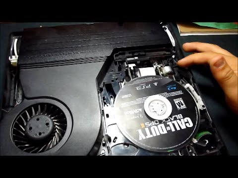 How To Fix Broken Ps3 Disc Tray