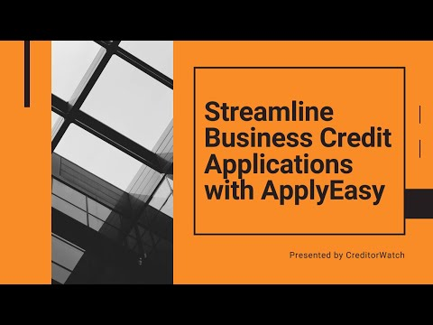 Streamline Business Credit Applications with ApplyEasy