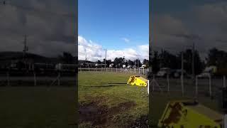 Temuco: movilizaciones de camioneros en salida norte tras ola de atentados incendiarios