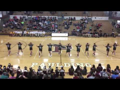 Paulding High School Cheerleading Senior Night Dance!