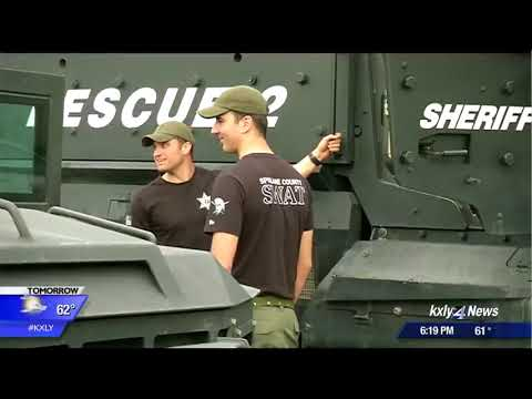Spokane County Sheriff's SWAT Team raise thousands for Sally's House