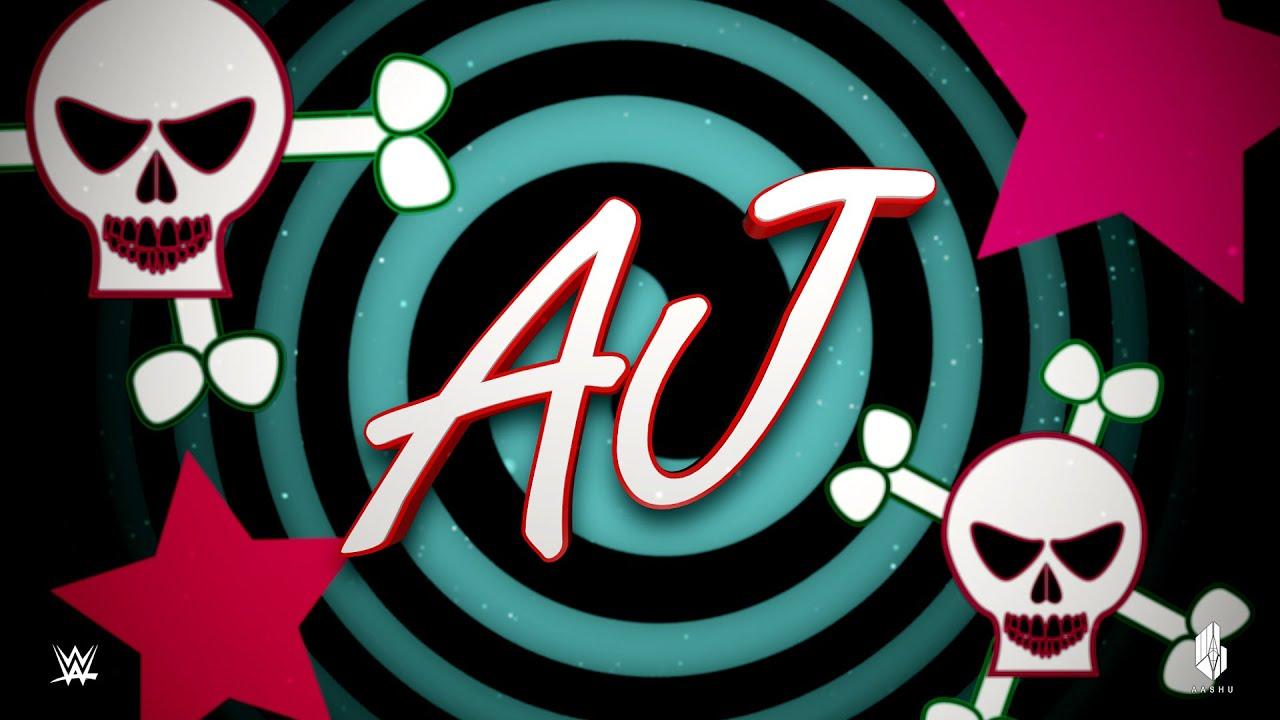 Aj Lee Skull Logo aj lee custom entrance video - youtube