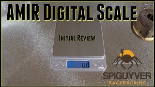 AMIR Digital Scale Initial Review