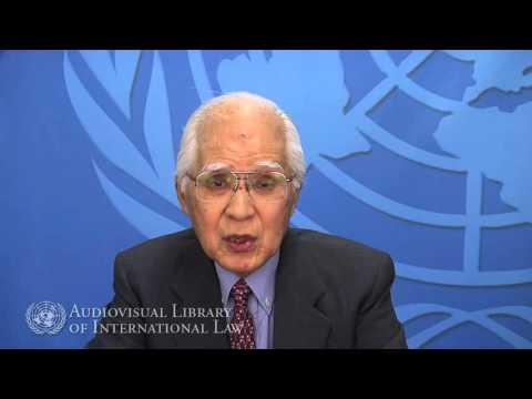 Judge Owada (ICJ) on Human Security and International Law