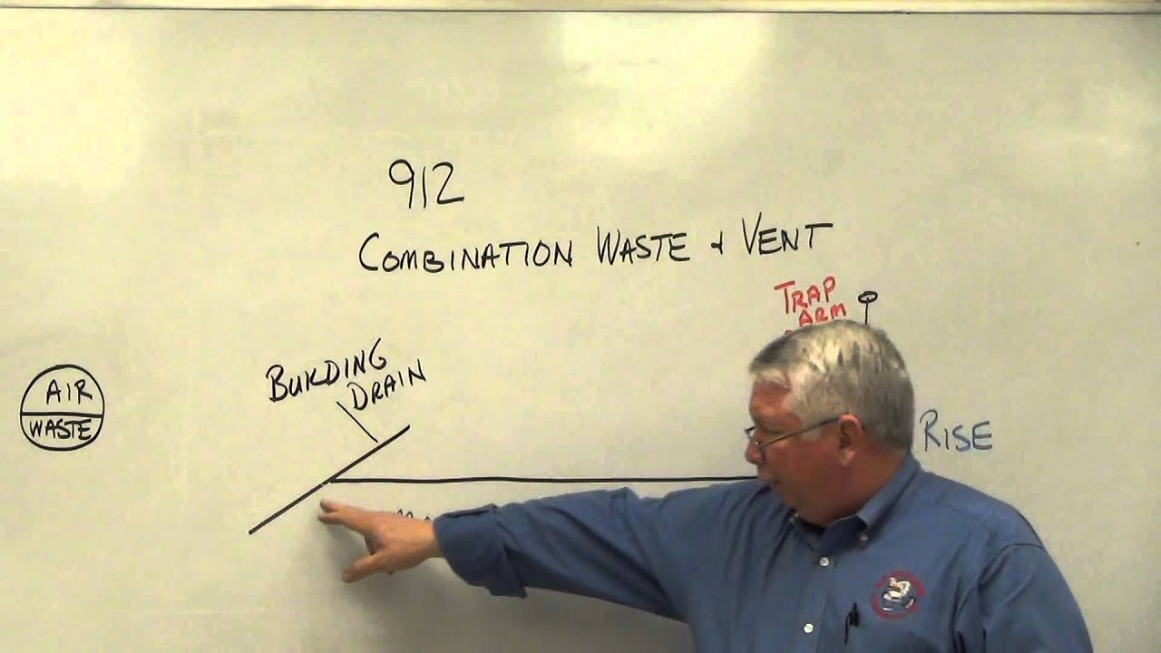 Combination Waste And Vent 4 Youtube