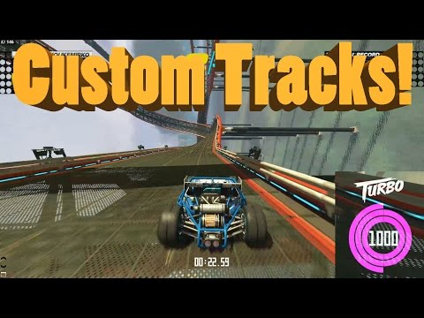 Trackmania Turbo 1000 MILES AN HOUR Online Custom Tracks
