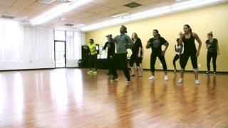 """Vybz Kartel - Key Stone"" Dancehall steps from class at Rhytmz & Motion by Nicholas Mafabi"