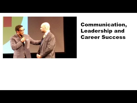 Lesson on Communication And Success