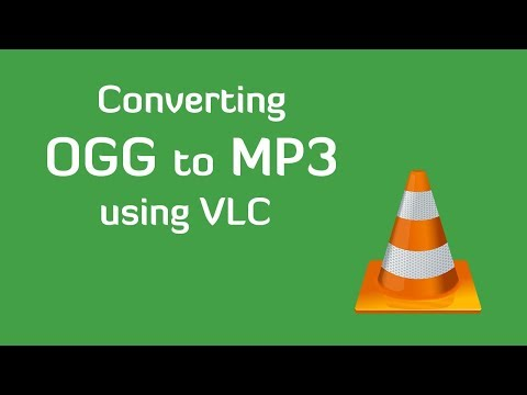 Convert OGG to MP3 using VLC