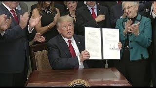 Trump Signs Executive Order To Weaken Obamacare - Full Event