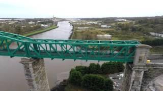 Drogheda Viaduct - an aerial view