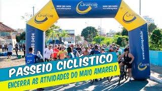 PASSEIO CICLÍSTICO ENCERRA AS ATIVIDADES DO MAIO AMARELO