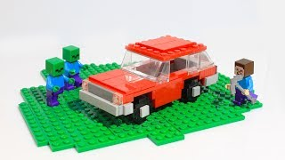 Lego Minecraft car MOC