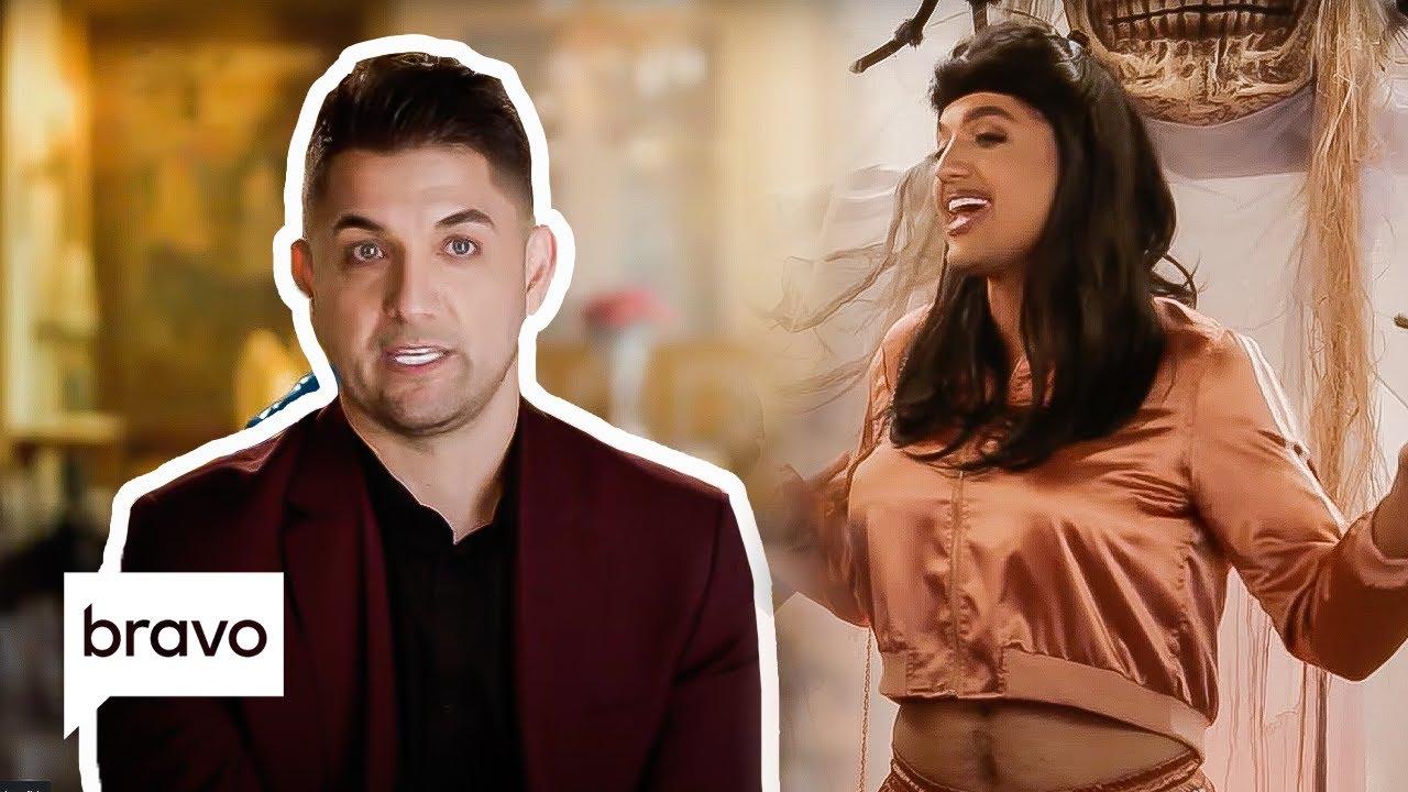 Nema Vand Dresses Up Like MJ Javid for a Wild Halloween Party | Shahs of Sunset Highlight (S9 E6)