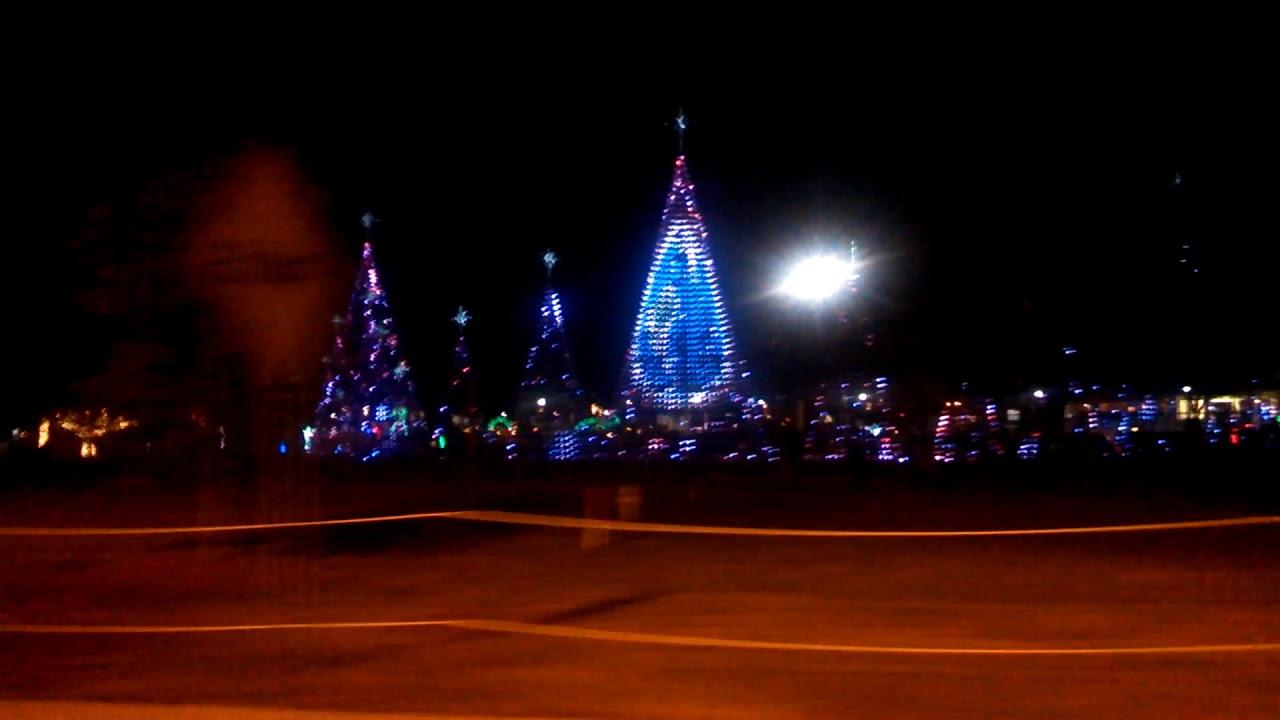 Gulfport (Mississippi) Harbor Christmas Lights Dis - YouTube