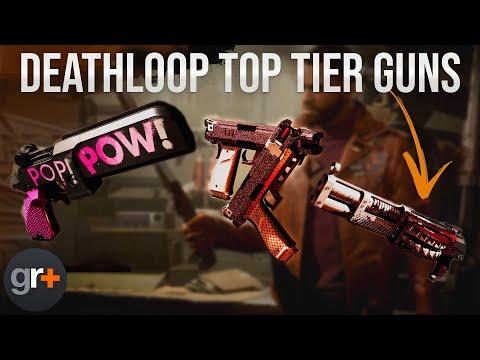 Deathloop Best Guns