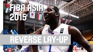 Blatche Reverse Lay-Up - 2015 FIBA Asia Championship