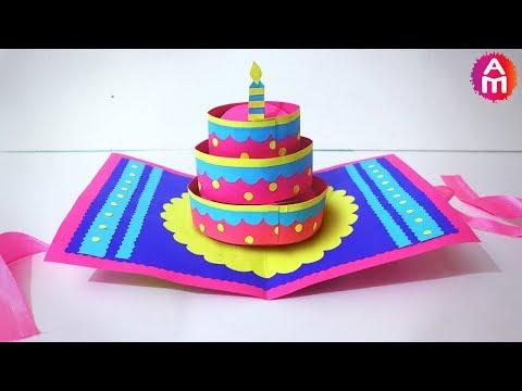 diy-beautiful-handmade-happy-birthday-card-|-🎂3d-cake-pop-up-card-|-artsy-madhu-35