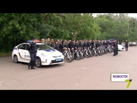 В Одессе появились первые велопатрули