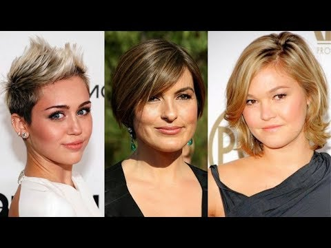 Short Haircut For Ladies With Round Faces For 2018 Trendy Pixie