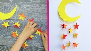 10 DIY WALL DECORATION IDEAS  | COOL AND EASY WALL DECORATION IDEAS