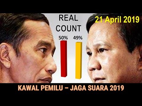 [Live] Kawal Pemilu - Jaga Suara 2019 - Real Count - 21 April 2019