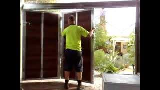 Sliding Bi Fold Door Or Gate From Gatesplus Melbourne
