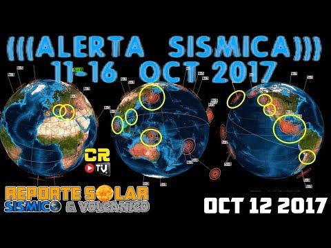(((ALERTA SISMICA))) 11-16 OCT 2017 REPORTE SOLAR SISMICO Y VOLCANICO