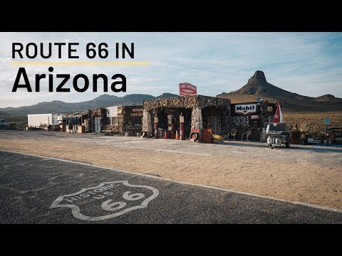 Route 66 Road Trip Stops in Arizona