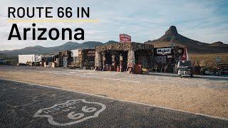 Route 66 Road Trip Stops in Arizona