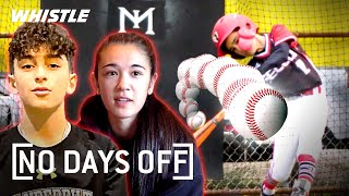 TOP Baseball Prodigy Training | No Days Off Ft. Joey Baseball