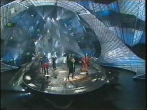 Eurovision 1997 United Kingdom (Winner). Katrina and The Waves Love Shine a Light