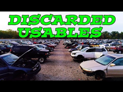 Discarded Usables: Parts you NEVER thought to buy from a Salvage Yard!