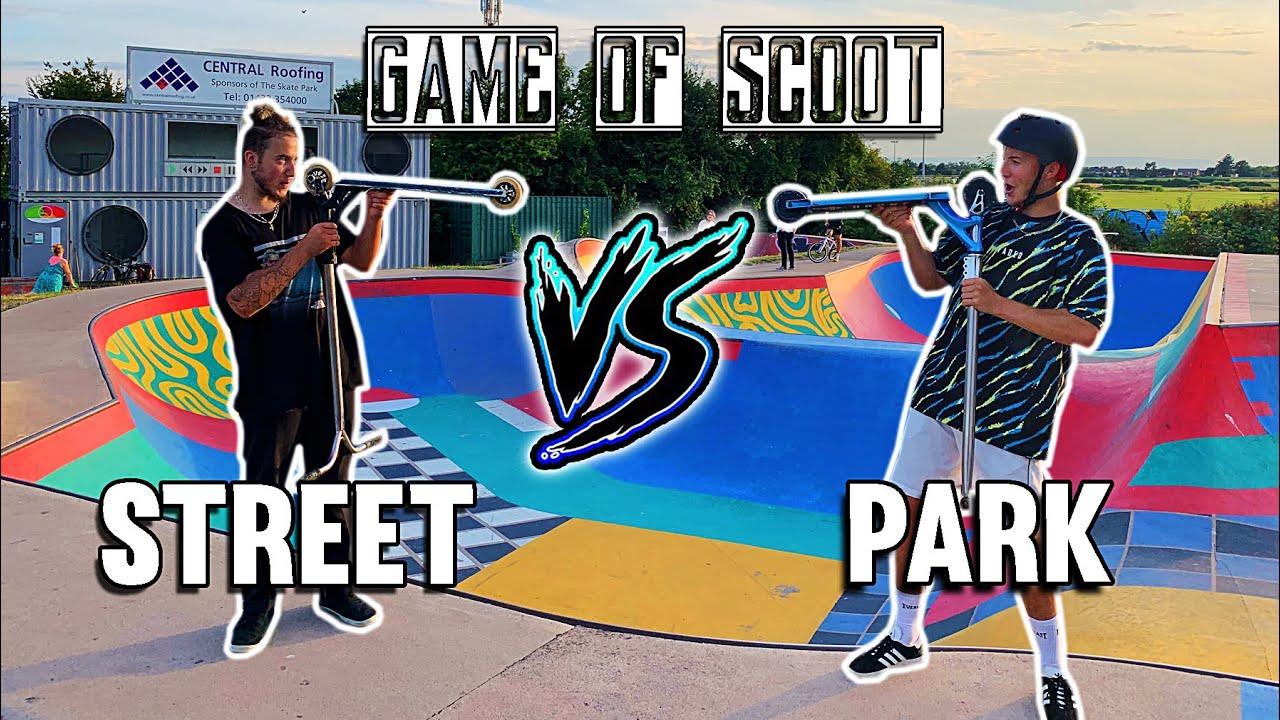 Intense Game Of Scoot Street Vs Park Spencer Smith Vs