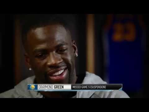 Draymond Green talks about his suspension with David Aldridge | Warriors vs Cavaliers Game 6