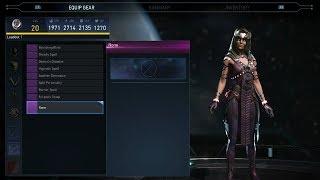 Injustice 2: Enchantress All Unlockable Abilities