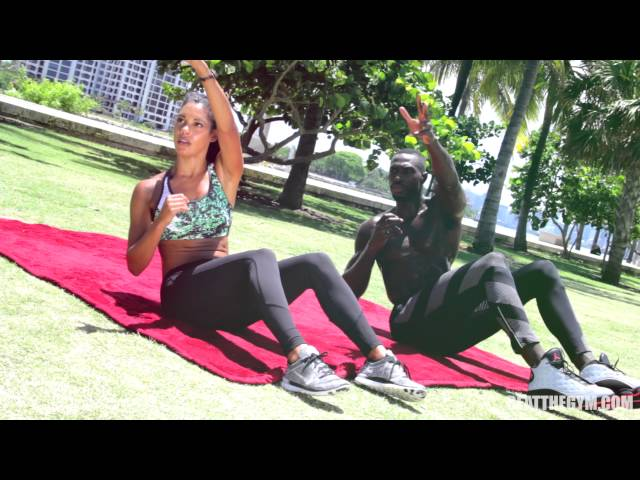 Beat The Gym // Abs Workout w. Tony Thomas & Taylor Walker