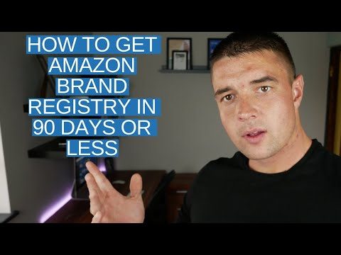 Amazon FBA HACK | How To Get Amazon Brand Registry In 90 Days Or LESS!