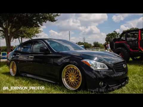 Stance Infiniti M56 On 24 Kt Gold Amani Forged Wheels In Hd Youtube