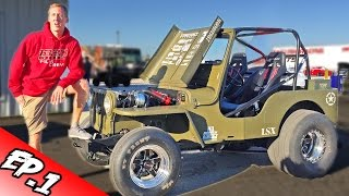 Cleetus' Garage Ep. 1 - 1000hp LSX Willy's Jeep!
