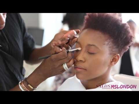 NTHATO MASHISHI MSLONDON MINERAL MAKEUP TUTORIAL - The Summer Look