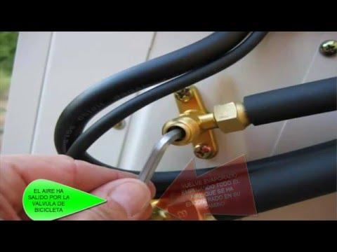 Como hacer barrido en aire acondicionado y encontrar fugas de gas