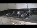 Como chumbar instalar a bancada balcão da pia e fogão cooktop - Parte 2